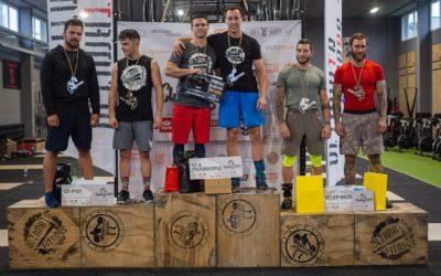 Stupnice vítězů kategorie Muži Ultimate Fitness Challenge 2019